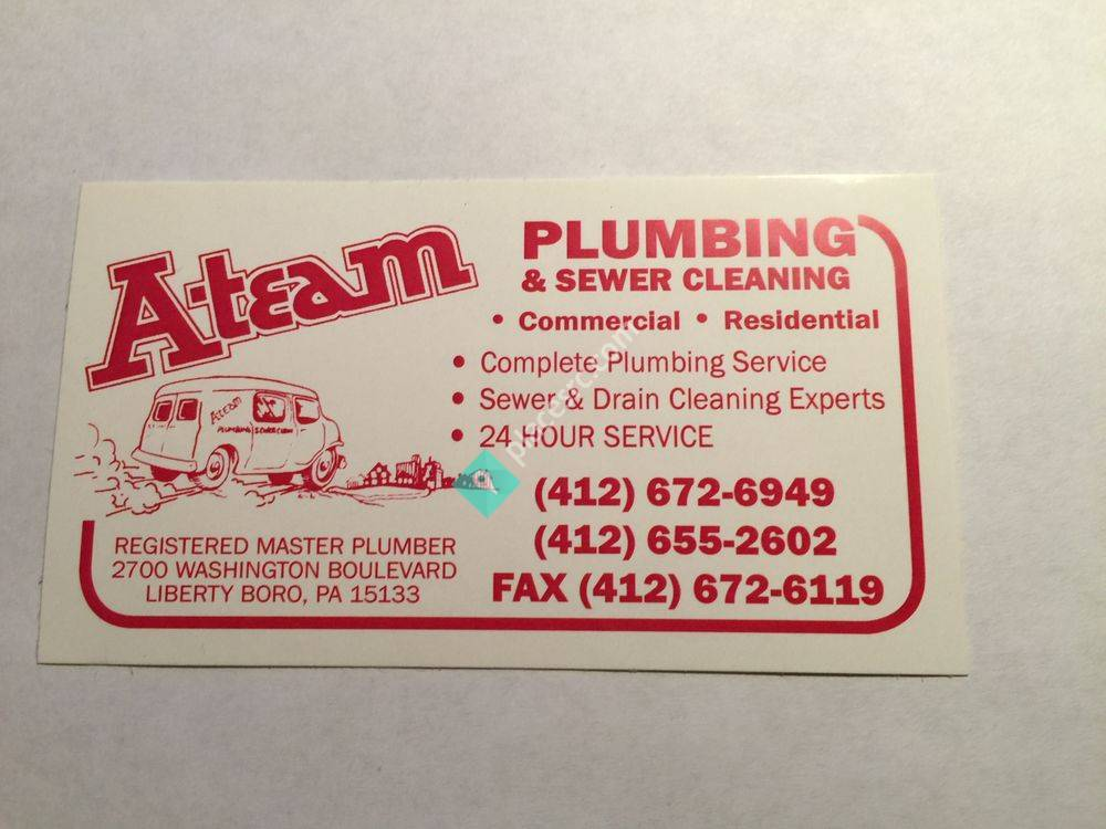 A-Team Plumbing And Sewer Cleaning