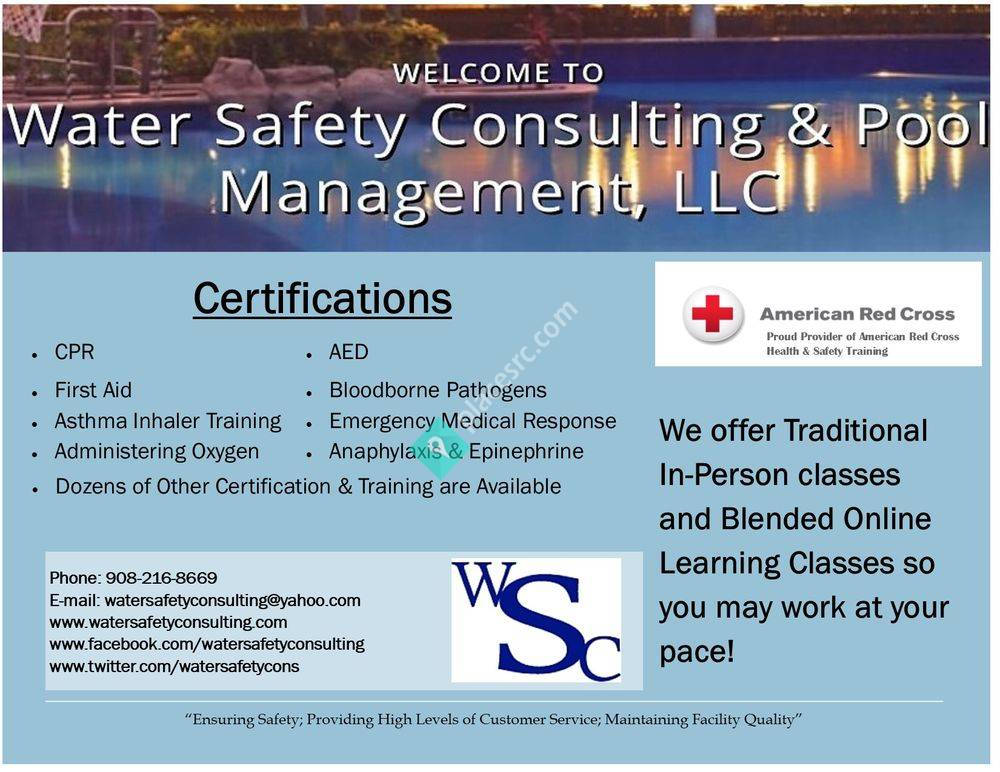 Water Safety Consulting & Pool Management - Towson